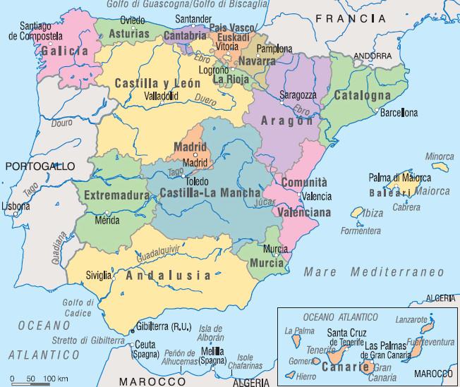 Cartina Catalogna.Diventa Avvocato In Spagna Avvocati Comunitari